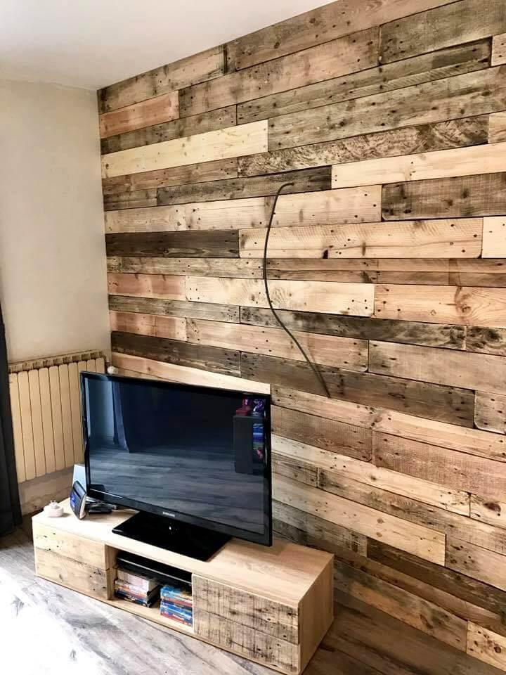 DIY Pallet Wall Paneling Wall Cladding Pallets Pro