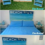 Pallet Headboard And Side Tables Pallet Wood Projects