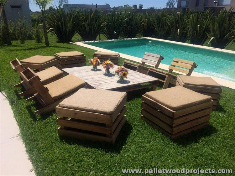 Pallet Garden Furniture Ideas Pallet Wood Projects