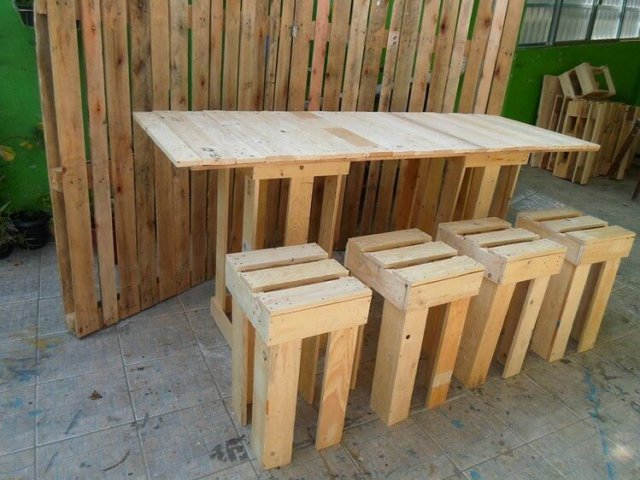Recycled Pallet Idea