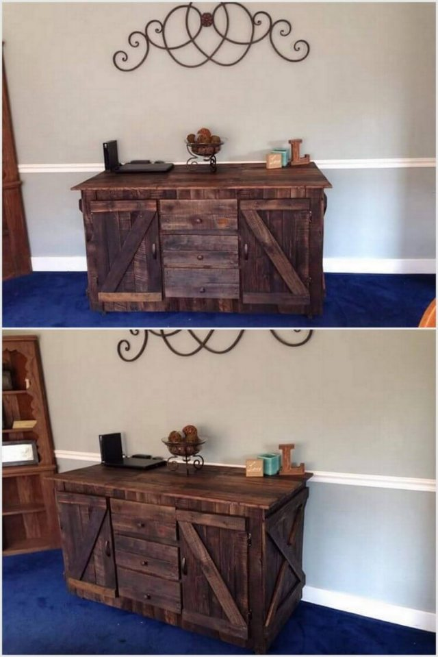Upcycled Wood Pallet Project