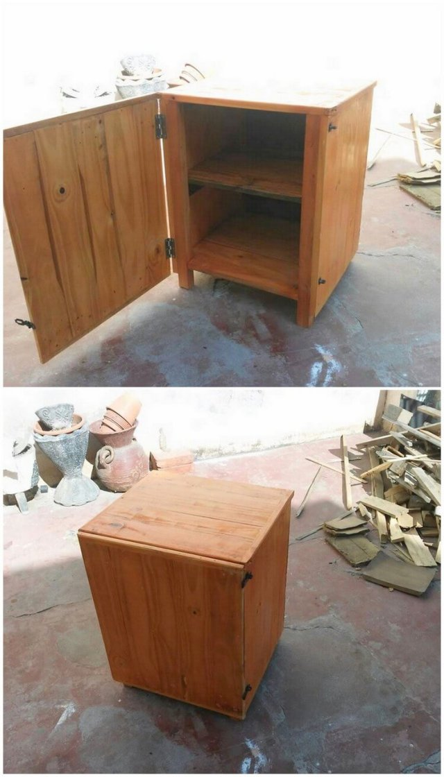 Pallet Small Cabinet