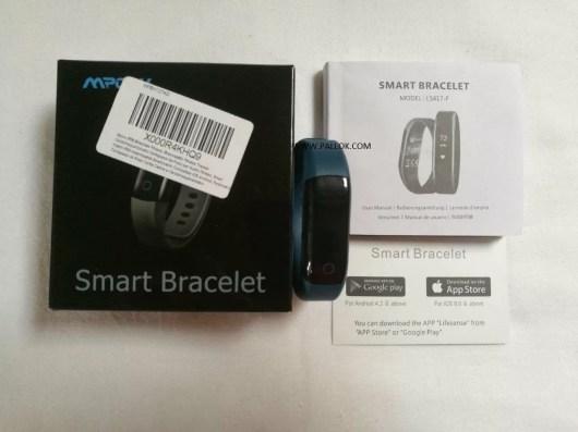 fitness tracker mpow confezione