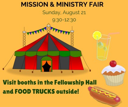 Mission and Ministry Fair 2016