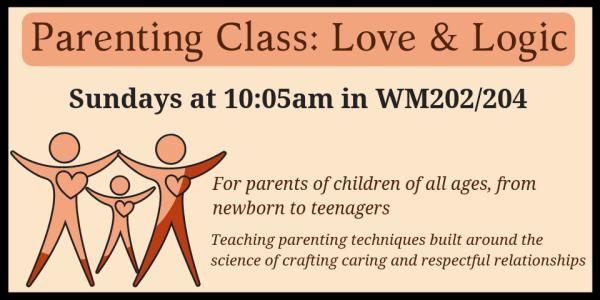 Parenting Class Love & Logic 2018 July