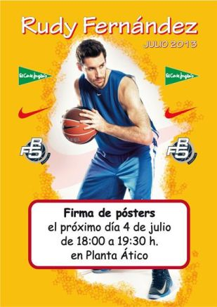 A4v poster Rudy Fernandez