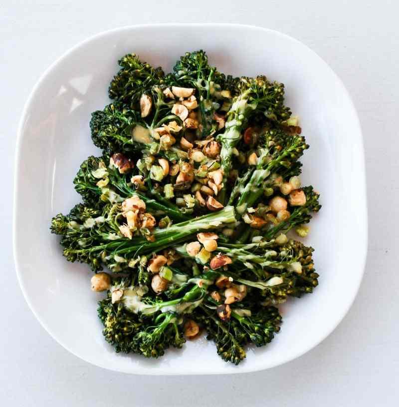 Broccolini with Hazelnuts