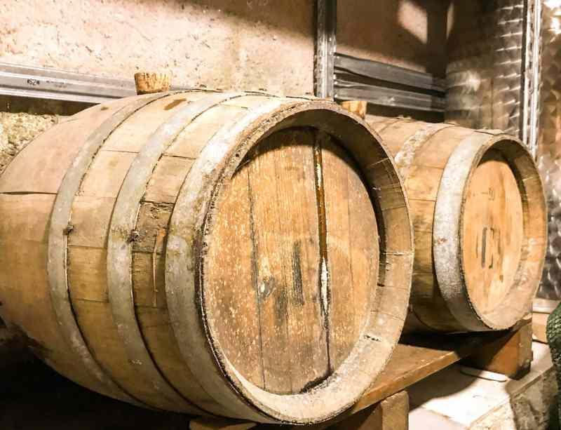Vernaccia Barrels