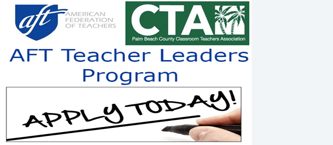 APPLY NOW for the CTA/AFT Teacher Leaders Program (TLP)