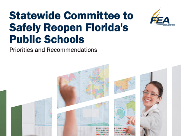FEA Priorities & Recommendations to Safely Reopen Florida's Public Schools