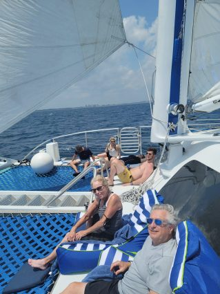 Relaxing passengers