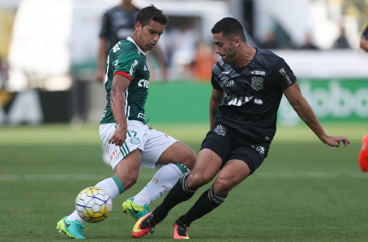 Cesar Greco/Ag Palmeiras/Divulgação _ Destaque do jogo, Jean marcou os dois gols do Palmeiras na vitória sobre o Figueirense