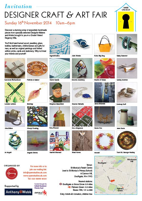 Craft & Art Fair eflyer