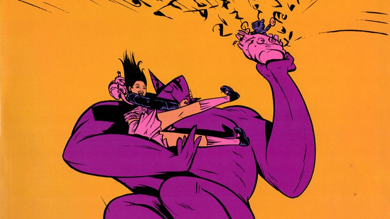 cover of paul pope's thb circus