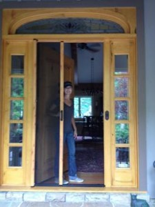 ClearView Retractable Screen