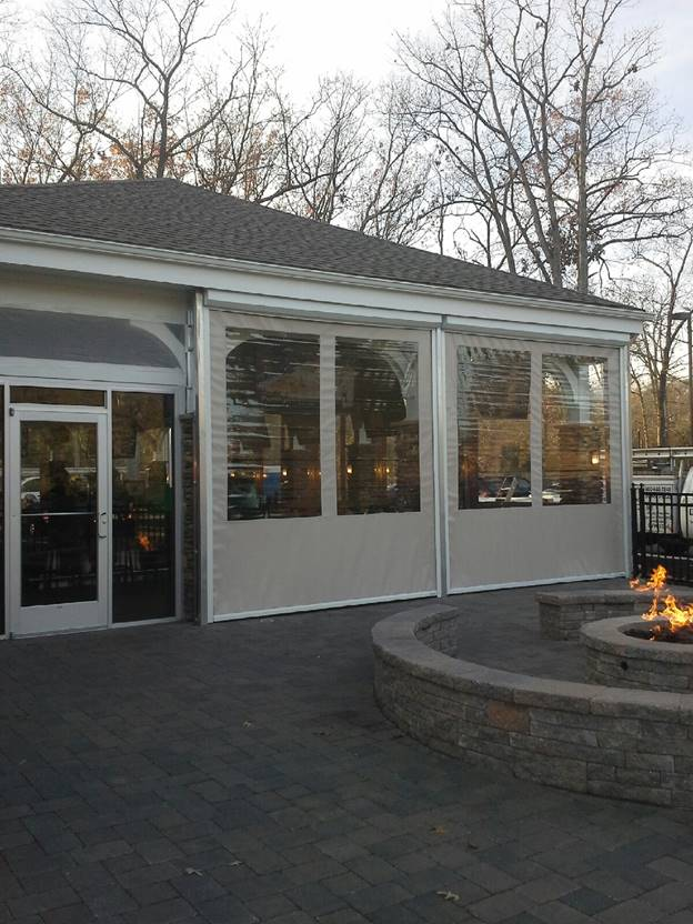 Fenetex Retractable Screens Drop Shades Palmetto Outdoor Spaces Llc