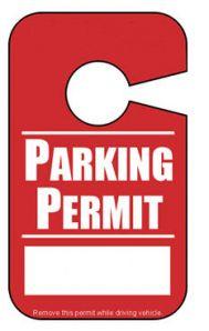 Additional Booster Parking Pass