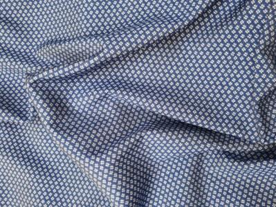 Ткань Вискоза Джинс принт купить опт розница недорого Украина Palmira Textile Group