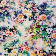 Ткань Штапель принт купить недорого опт розница Украина Palmira Textile