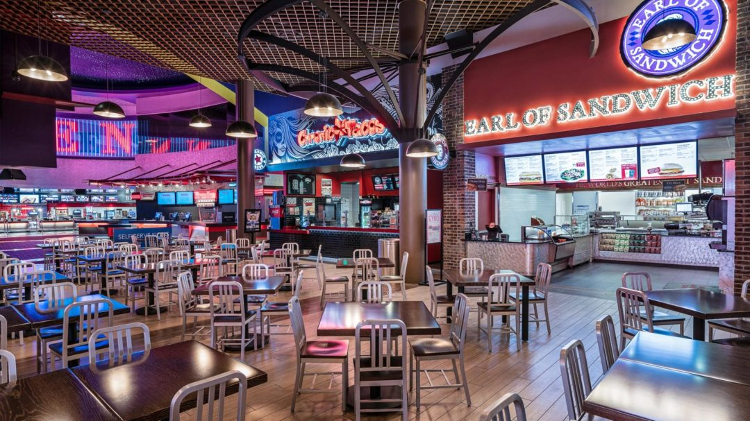 A photo of the eatery at the palms