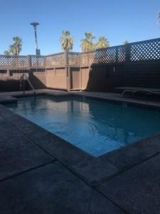 """""""Airbnb Palm Springs pool"""""""