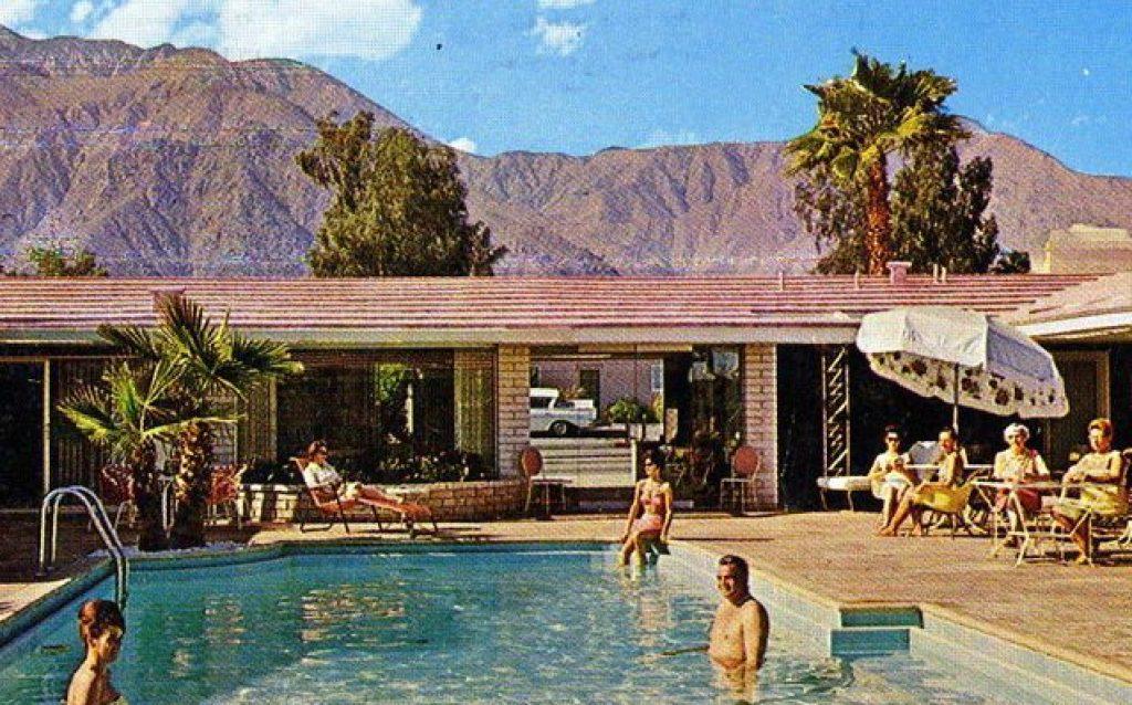 palm springs rendezvous retro vintage hotel