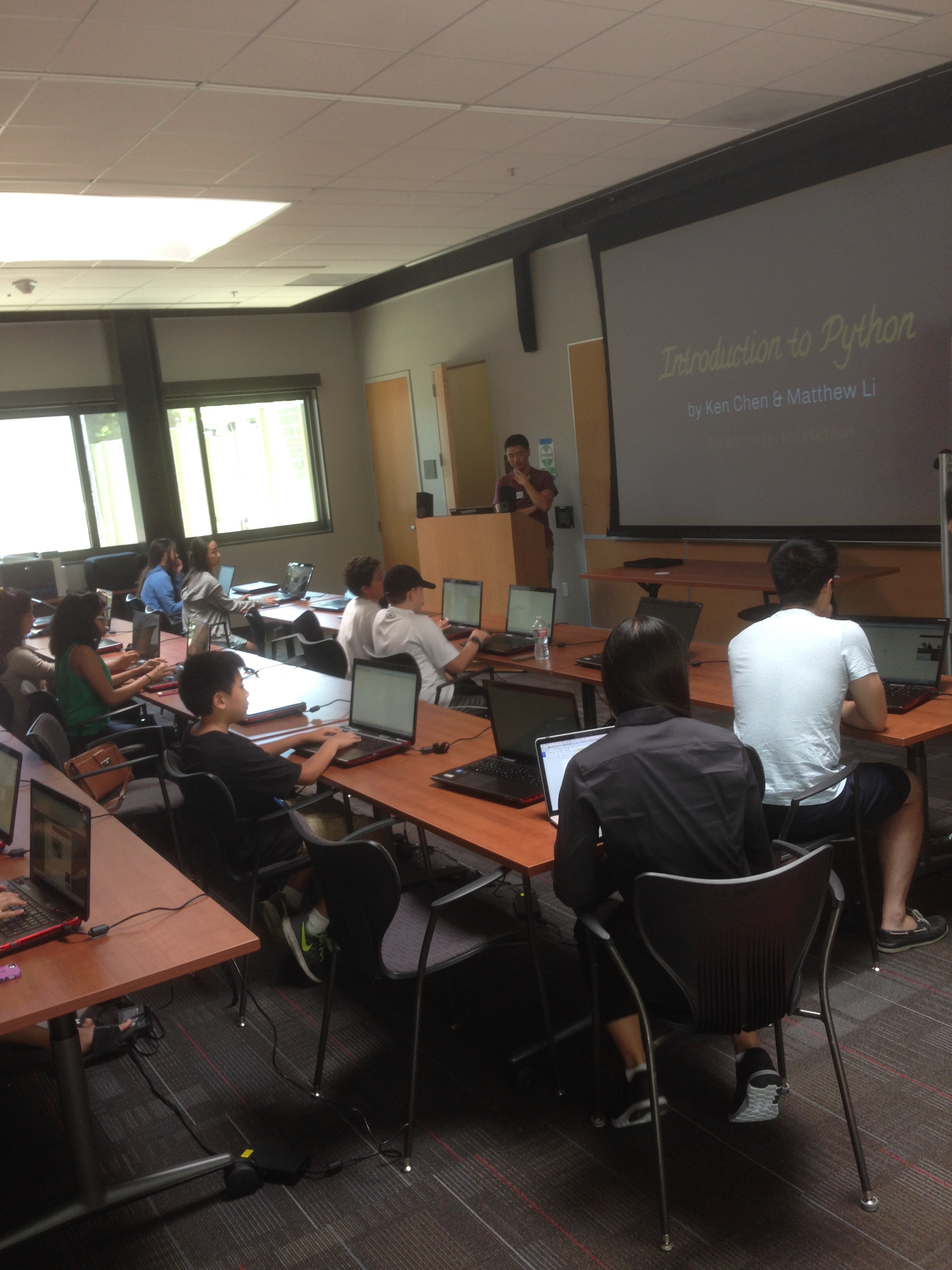 From Python to Palantir, TEC event inspires Palo Alto teens