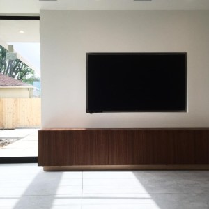 Floating Cabinet for TV and Entertainment
