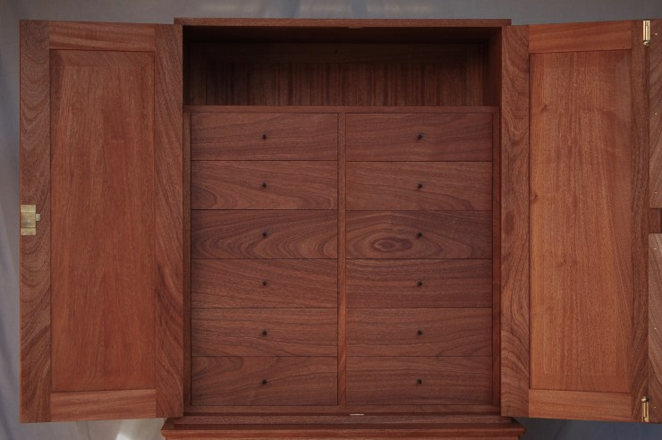 Coin Cabinet with Drawers