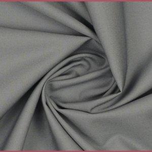 Baumwolle-uni-grau