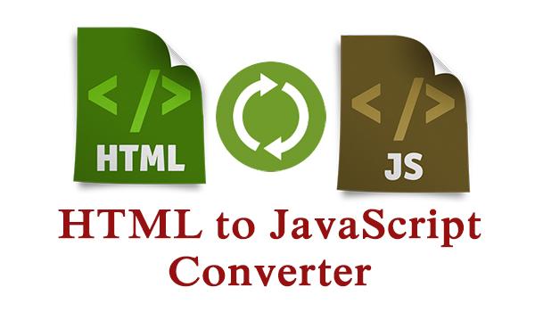 Photo of أداة تحويل شيفرة JavaScript إلى شيفرة HTML