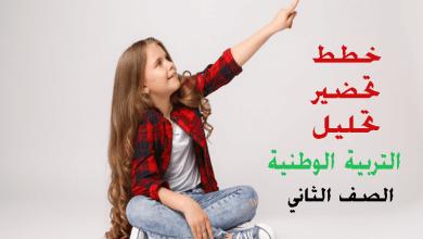 Photo of خطط وتحاضير وتحليل التربية الوطنية – الصف الثاني – الفصل الاول