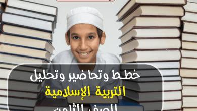 Photo of خطط وتحاضير وتحليل تربية اسلامية الصف الثامن الفصل الاول