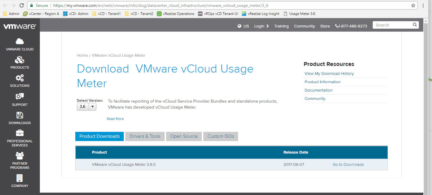 VMware vCloud Usage Meter 3 6 1 - End to End Deployment and