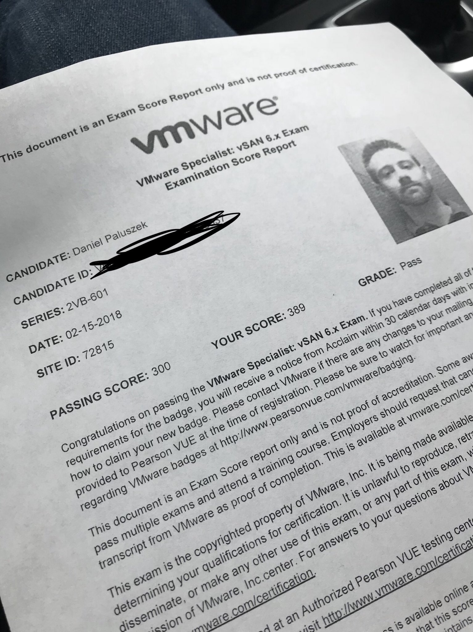 vSAN Specialist Exam 2VB-601 - Tips - Clouds, etc