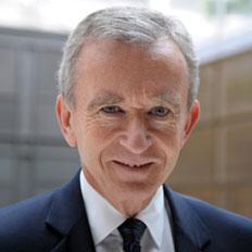Bernard Arnault, presidente  e Ceo di LVMH