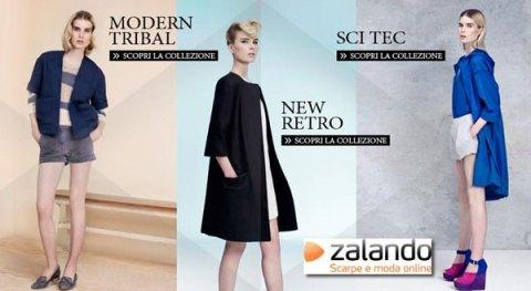 Zalando home page