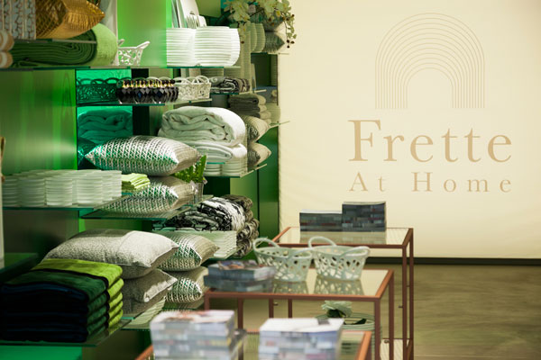 Un interno del flagship Frette at Home