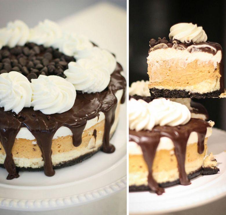 cheesecake de abobora