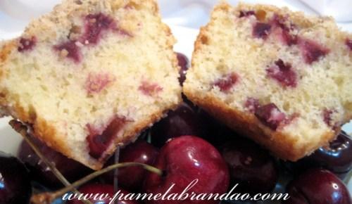 muffin cereja