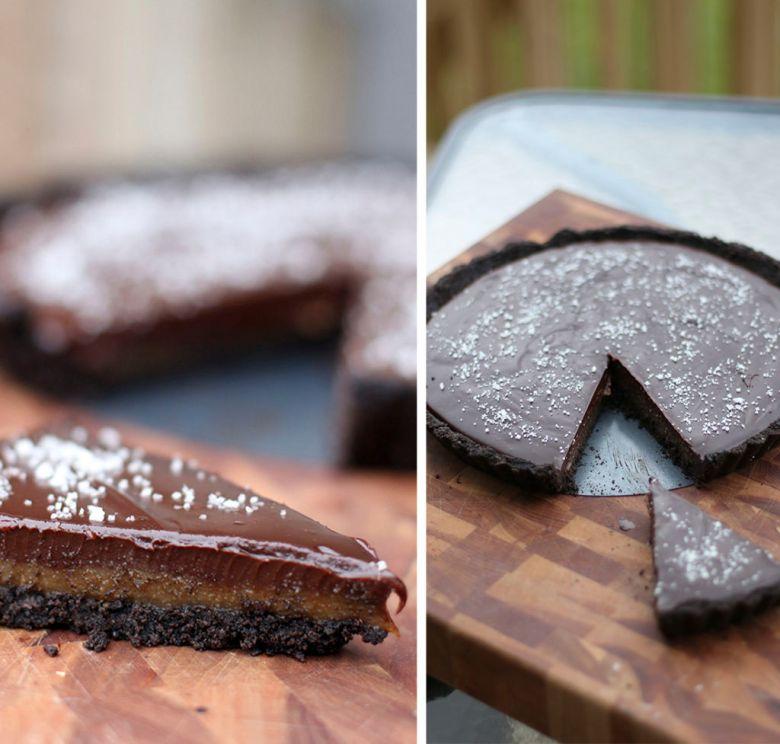 torta caramelo e oreo 2