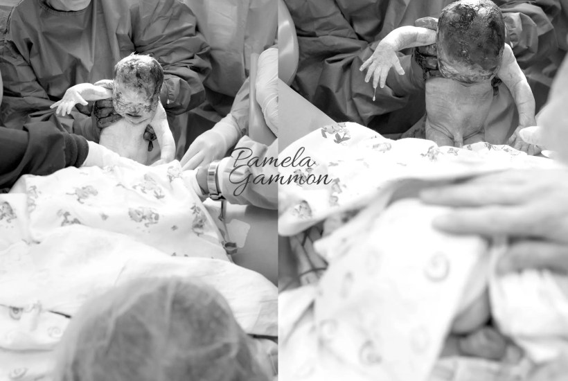 Southern Ohio Twin Birth Photographer
