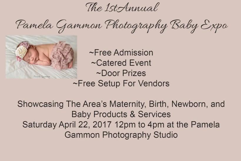 Pamela Gammon Photography Baby Expo