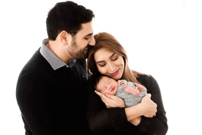 Newborn Family Posing Ohio Photography