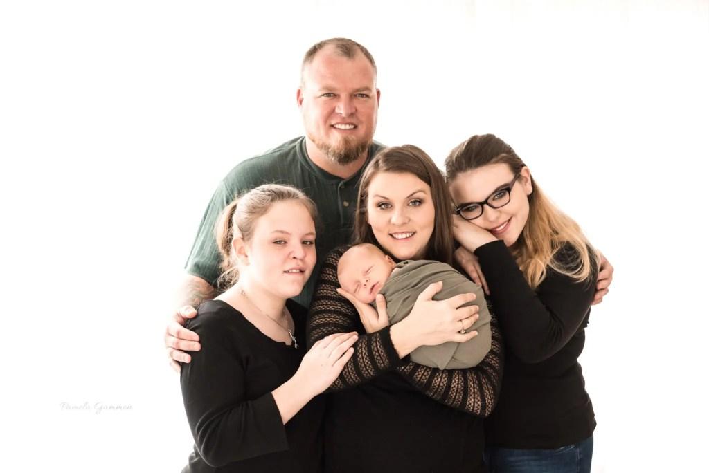 Portsmouth Ohio Newborn and Family Photos