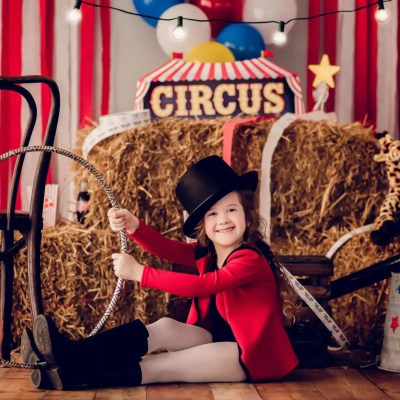 K's Circus Imagination Session | Circus Photography Session