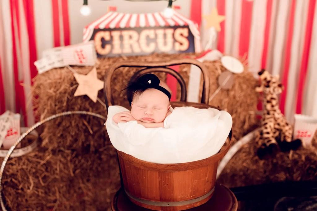 Circus Newborn Session