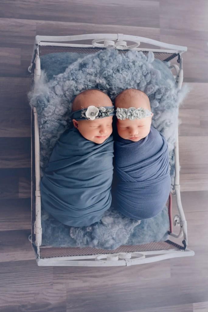 Southern Ohio Newborn Twins