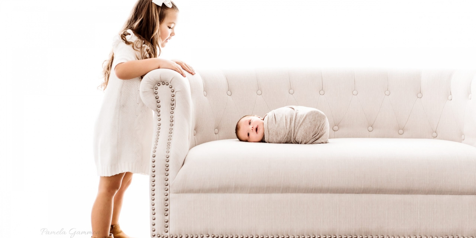 Newborn and Toddler Session
