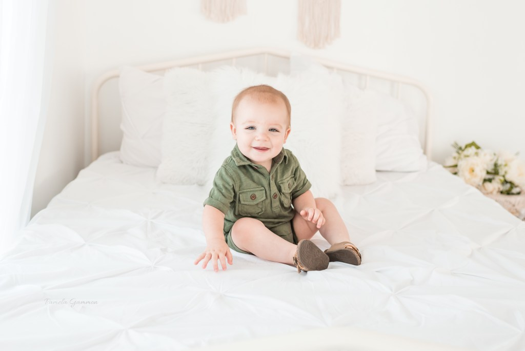 Kentucky One Year Old Boy Photography Session